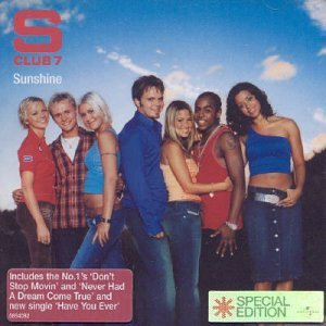 S Club 7 Dance, Dance, Dance cover art