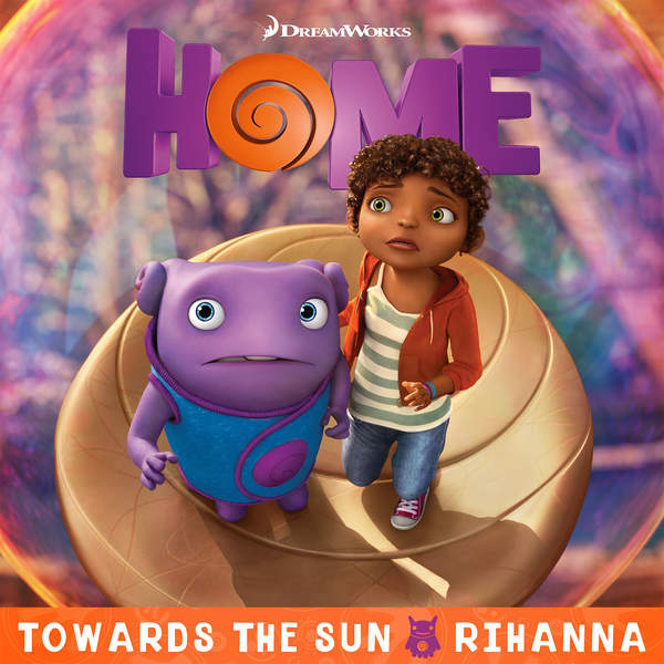 Rihanna Towards The Sun cover art
