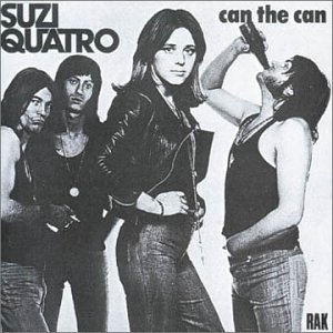 Suzi Quatro Can The Can cover art