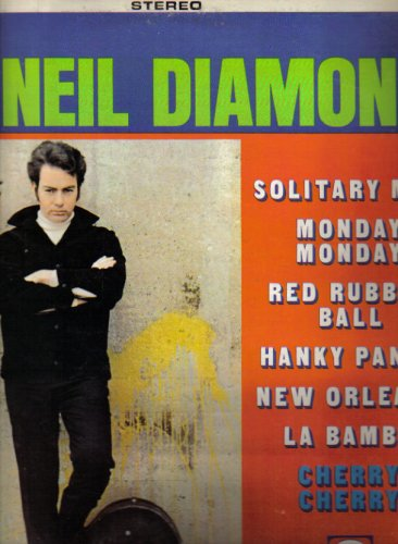 Neil Diamond Solitary Man cover art