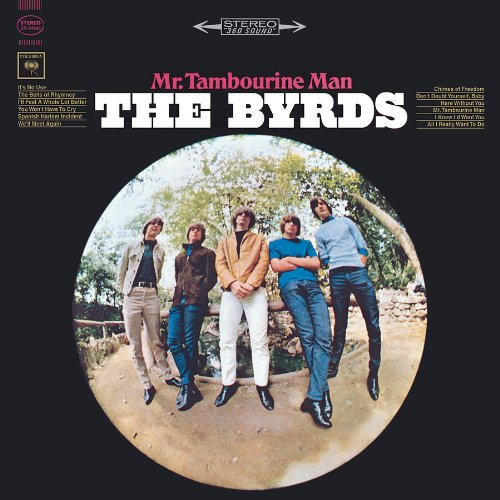 The Byrds Mr. Tambourine Man cover art