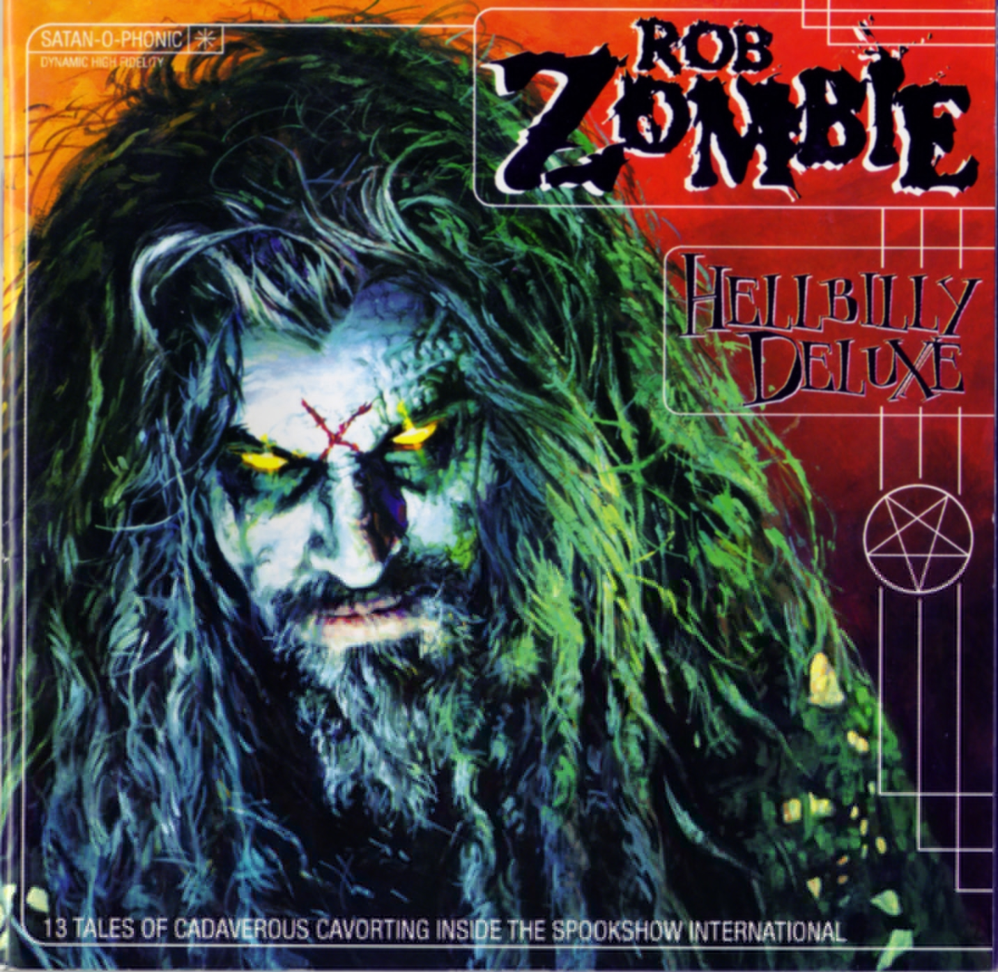 Rob Zombie Living Dead Girl cover art