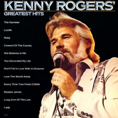 Kenny Rogers Coward Of The County cover art