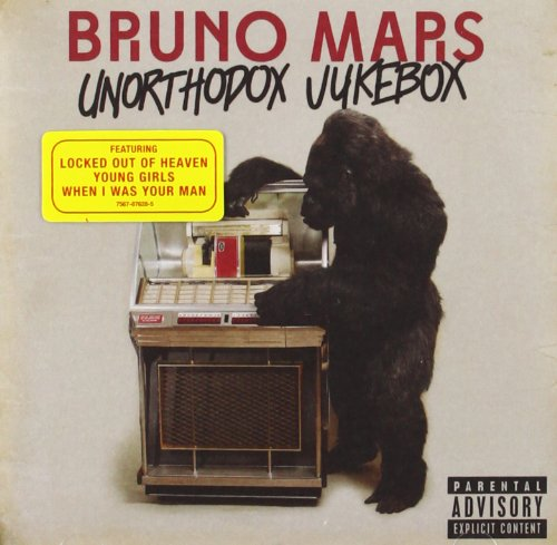 Bruno Mars Young Girls cover art