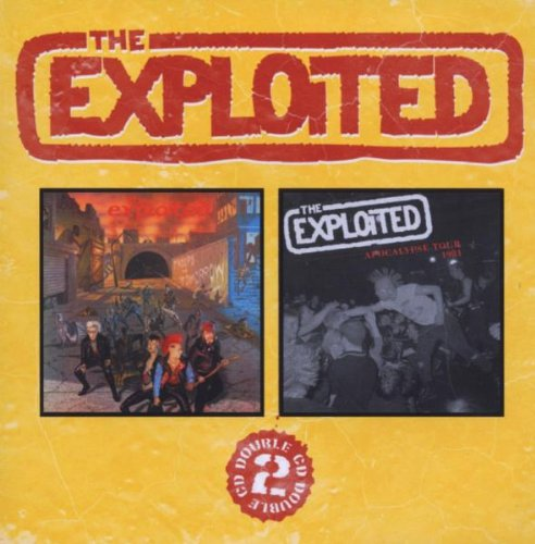 The Exploited Dead Cities cover art