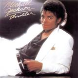 Thriller sheet music by Michael Jackson