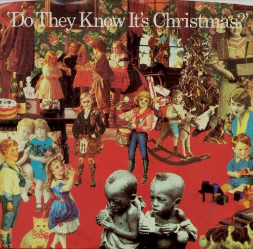 Band Aid Do They Know It's Christmas? cover art