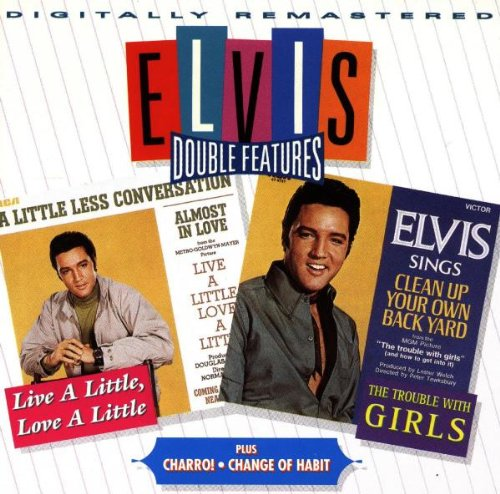 Elvis Presley vs. JXL A Little Less Conversation cover art
