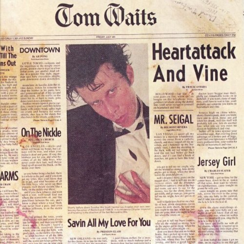 Tom Waits Heartattack And Vine cover art
