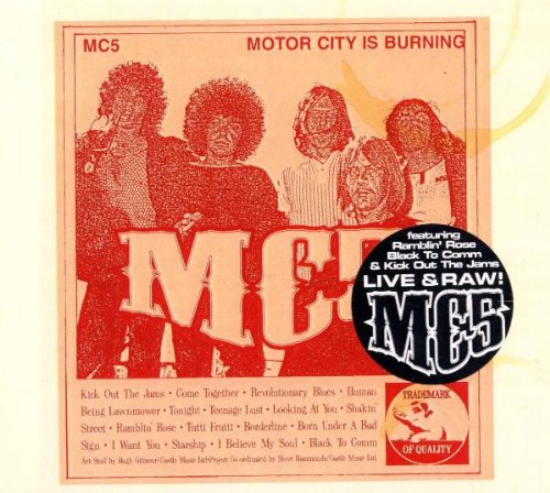 MC5 Ramblin' Rose cover art