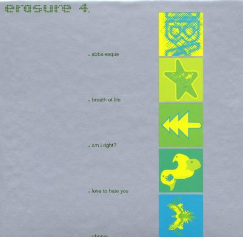 Erasure Take A Chance On Me cover art
