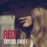 Red sheet music by Taylor Swift
