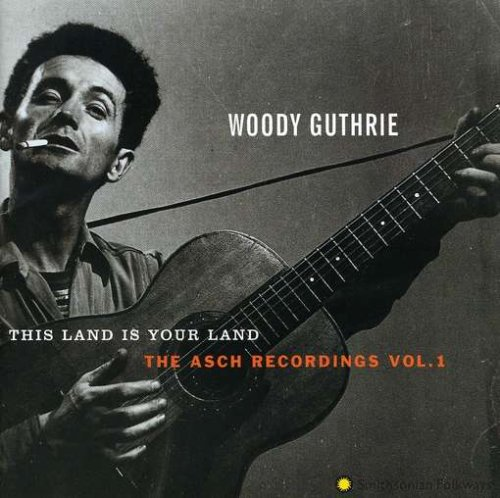 Woody Guthrie Ramblin' 'Round cover art