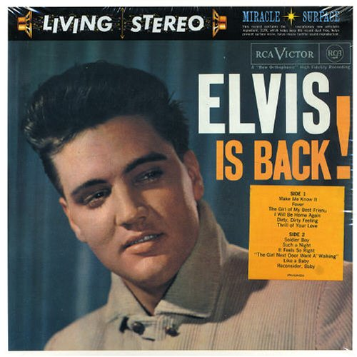 Elvis Presley A Mess Of Blues cover art