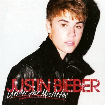 Justin Bieber Mistletoe cover art