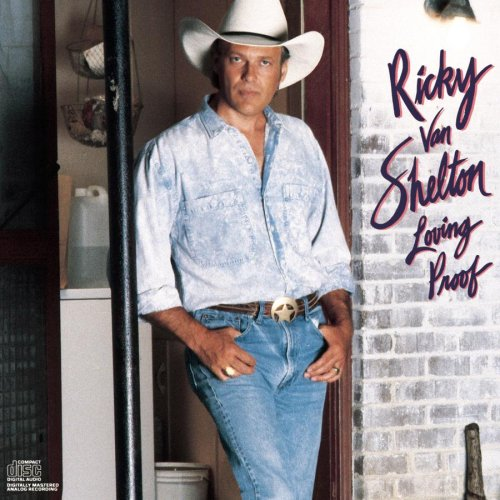 Ricky Van Shelton I'll Leave This World Loving You cover art