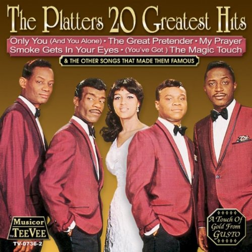 The Platters Earth Angel cover art