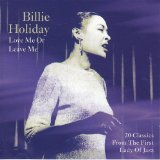 All Of Me sheet music by Billie Holiday