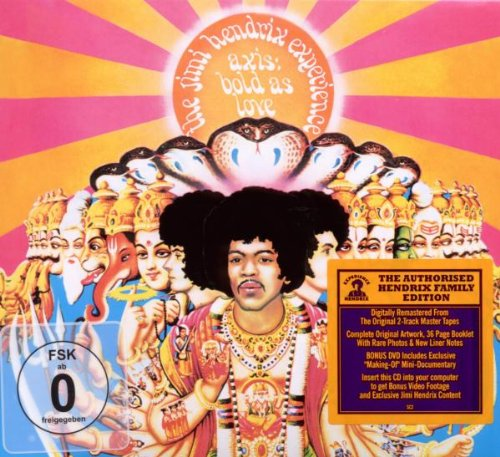 Jimi Hendrix Bold As Love cover art