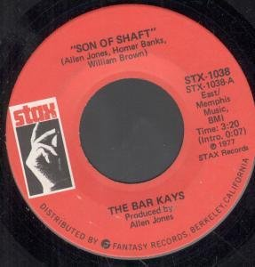 The Bar-Kays Son Of Shaft cover art