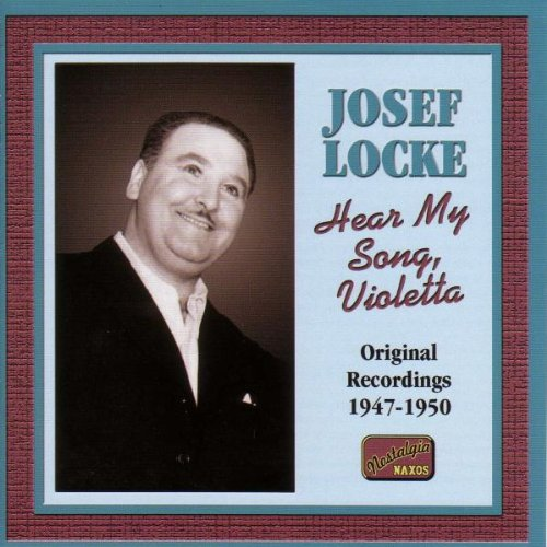Josef Locke Hear My Song, Violetta cover art