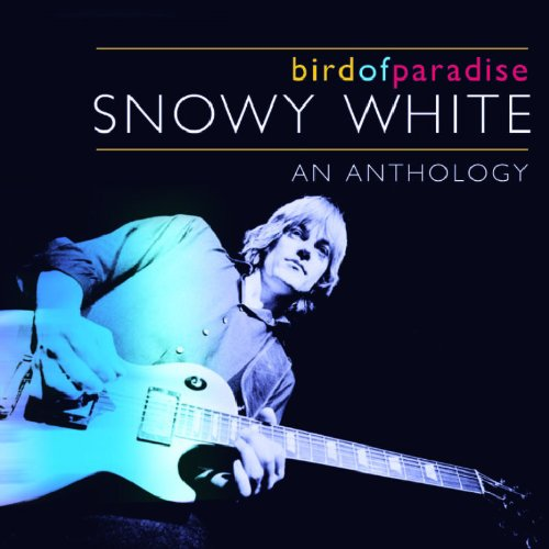 Snowy White Bird Of Paradise cover art
