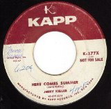 Here Comes Summer sheet music by Jerry Keller
