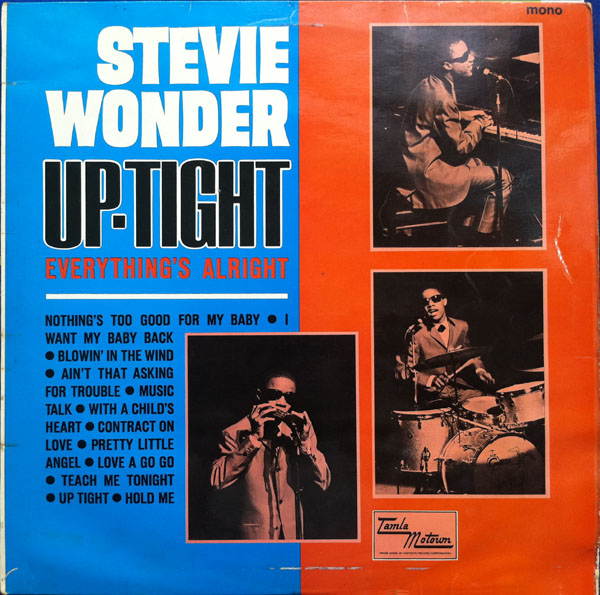 Stevie Wonder Uptight (Everything's Alright) cover art