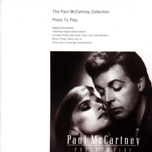 Paul McCartney Footprints cover art