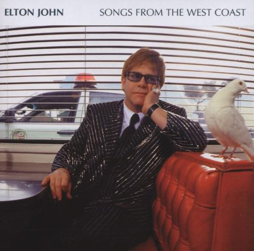 Elton John I Want Love cover art