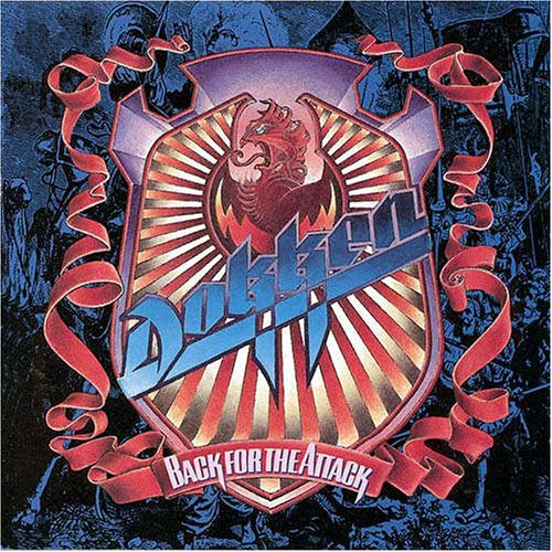 Dokken Kiss Of Death cover art