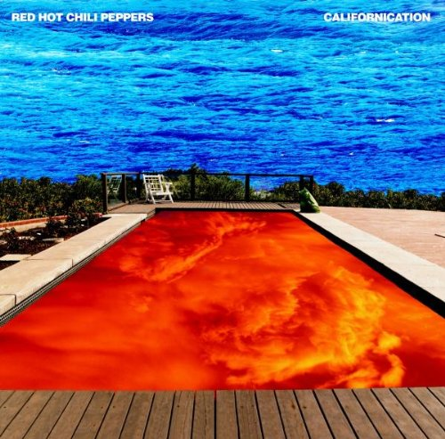Red Hot Chili Peppers Californication cover art
