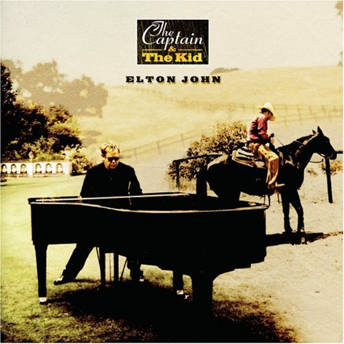 Elton John The Captain And The Kid cover art