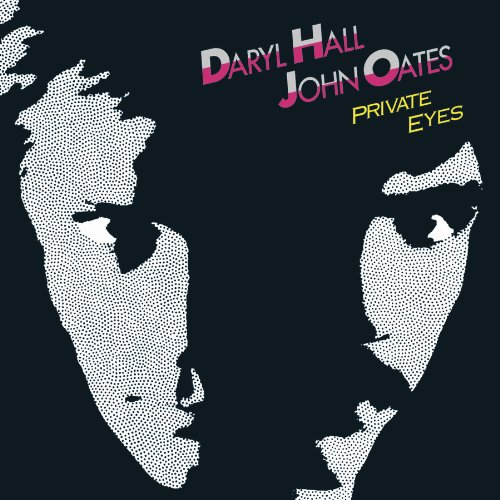 Hall & Oates Private Eyes cover art
