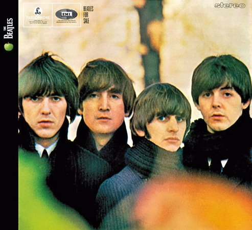 The Beatles Baby's In Black cover art