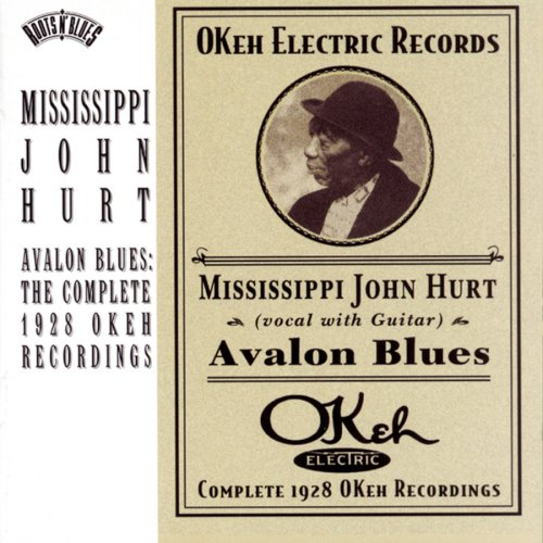 Mississippi John Hurt Avalon Blues cover art