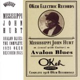 Avalon Blues sheet music by Mississippi John Hurt