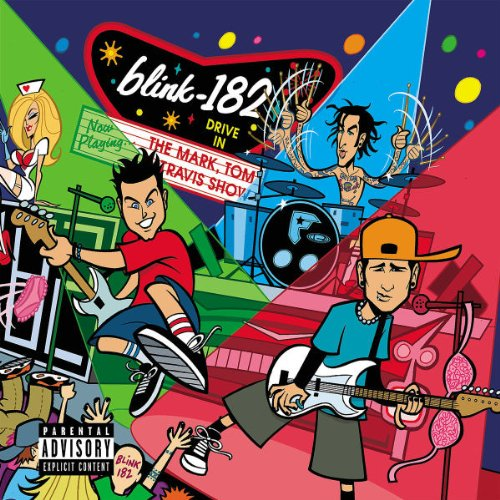 Blink-182 Man Overboard cover art