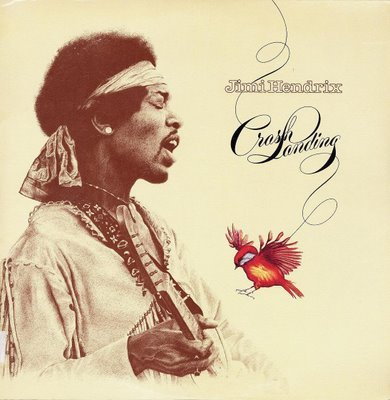 Jimi Hendrix Crash Landing cover art