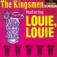 Kingsmen Louie, Louie cover art