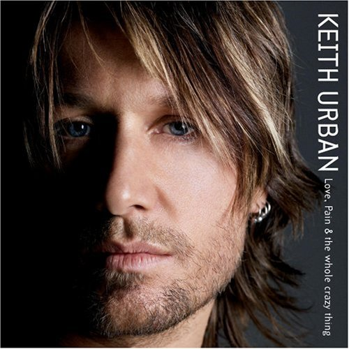 Keith Urban Faster Car cover art