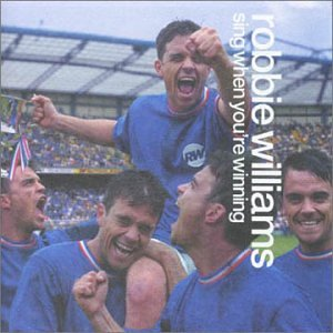 Robbie Williams Love Calling Earth cover art