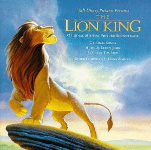 Elton John I Just Can't Wait To Be King (from The Lion King) cover art