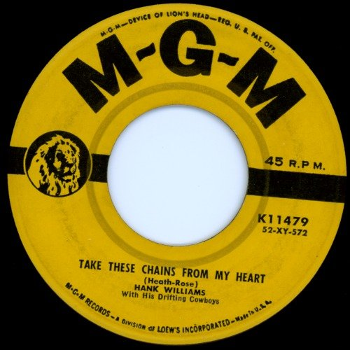 Hank Williams Take These Chains From My Heart cover art