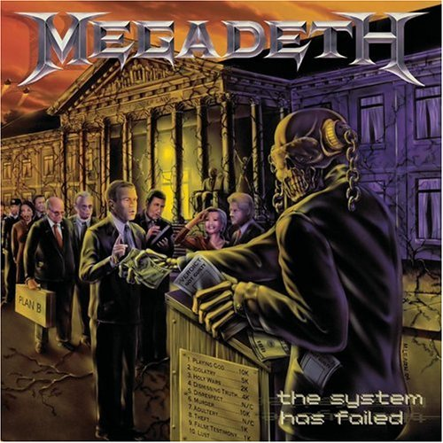 Megadeth Blackmail The Universe cover art