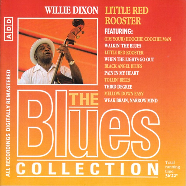 Willie Dixon Third Degree cover art