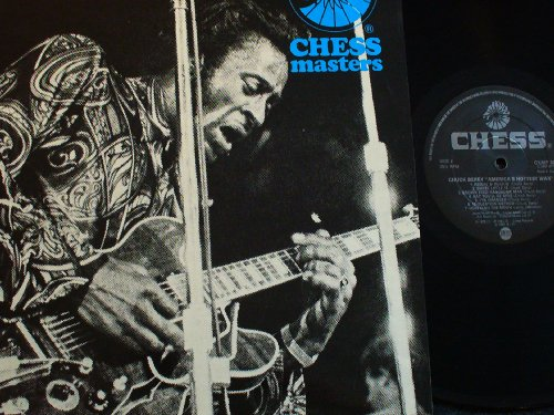 Chuck Berry You Can't Catch Me cover art