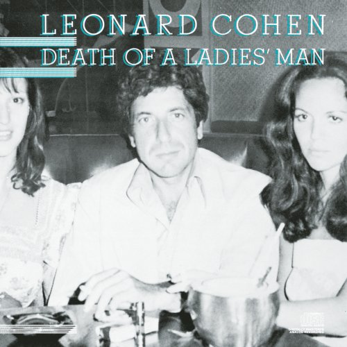 Leonard Cohen Death Of A Ladies' Man cover art