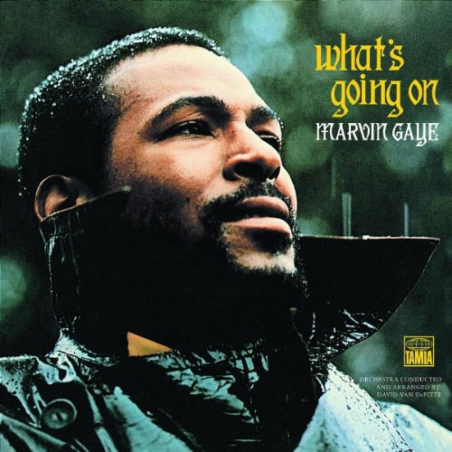 Marvin Gaye What's Going On cover art