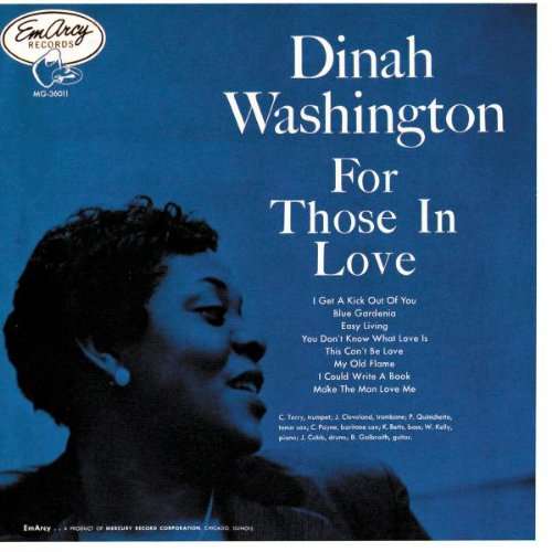 Dinah Washington My Devotion cover art